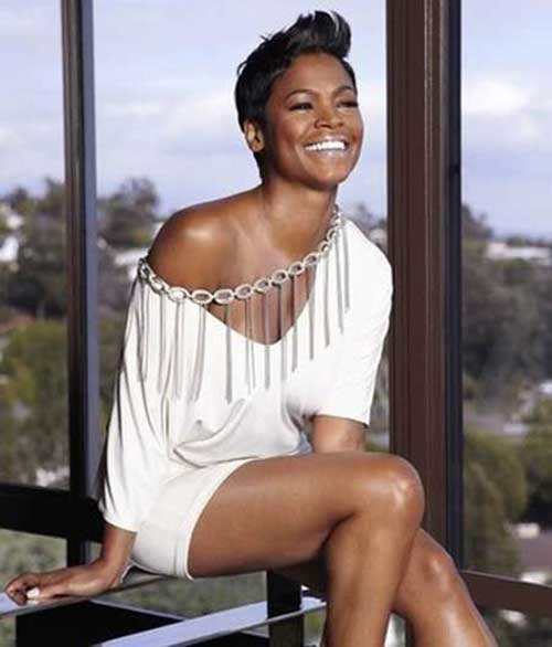 Nia Long Short Hairstyles for Black Women 2015