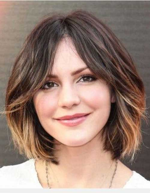 Ombre Short Haircuts for Women