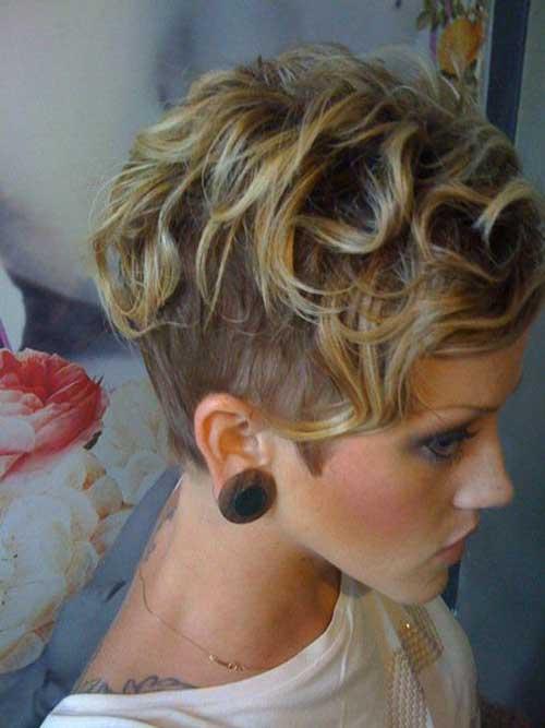 Super Pixie Cut for Curly Hair