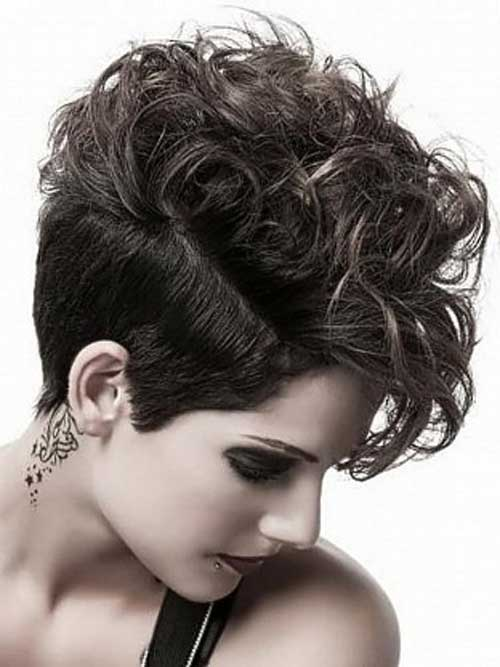 Cool Pixie Cuts for Thick Curly Hair
