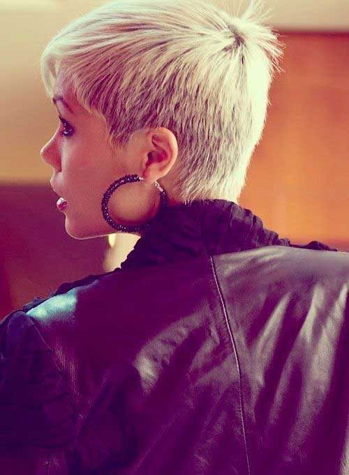 Pixie Hairstyles for Short Hair Back