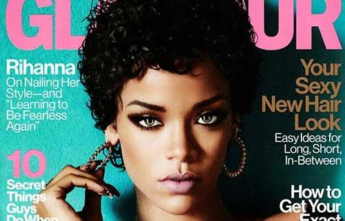 Rihanna Curly Pixie Hair