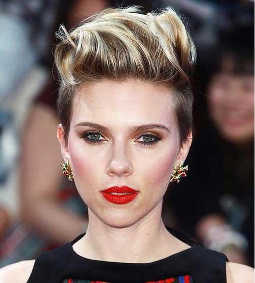 Scarlett Johansson Short Pixie