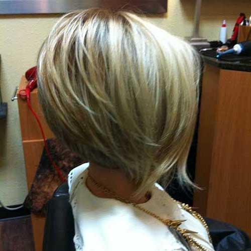Short Blonde Bob Haircuts with Layers