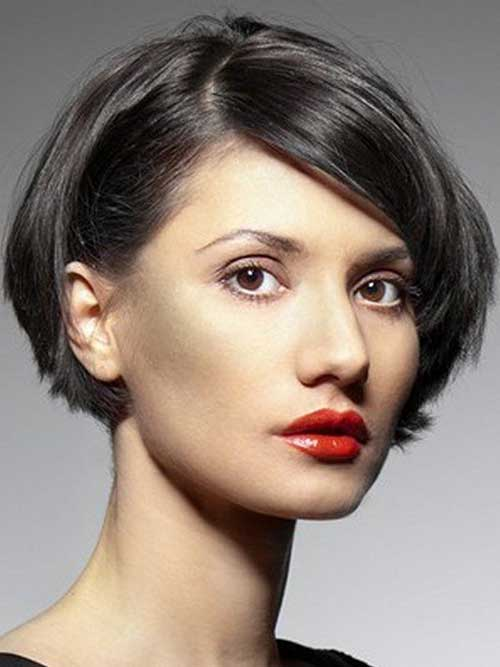 Short Blunt Bob Haircuts for Girls