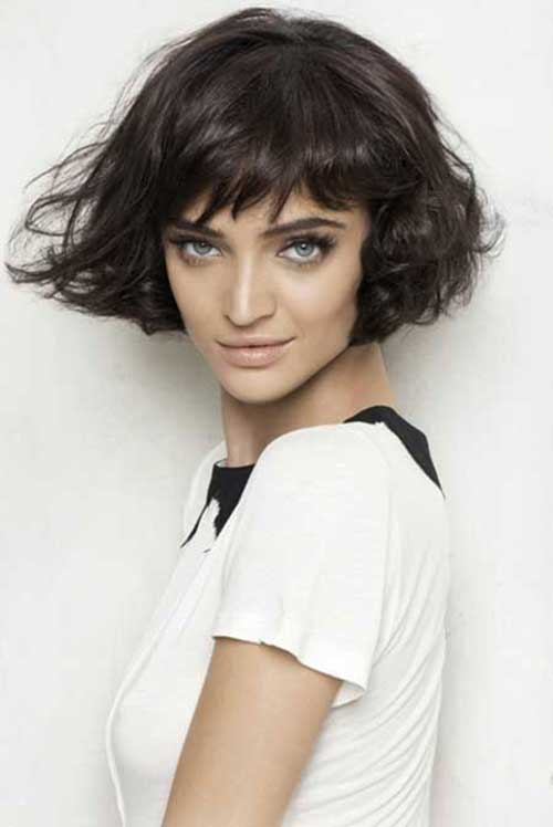 Best Short Curly Bob Haircuts 2014