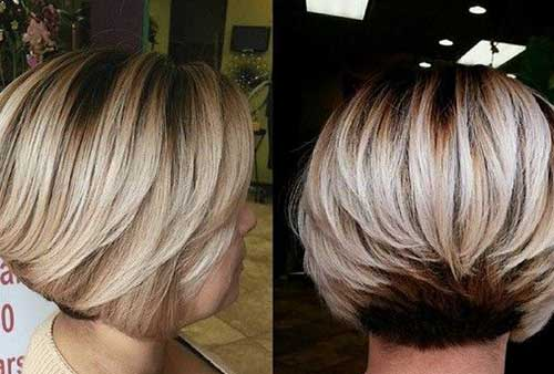 Short Bob Layered Cut Ideas for Black Women