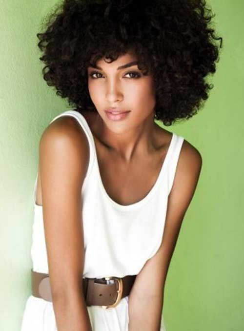 Best Short Curly Afro Hairstyles