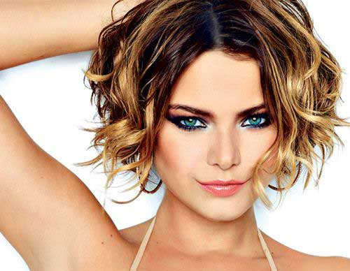 Popular Short Curly Haircuts 2014