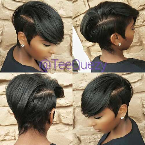 Short Cute Hairstyles for Black Women