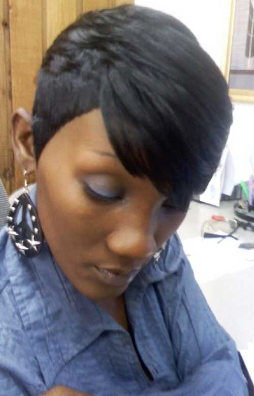 Short Easy Weave Hairstyles for Black Women