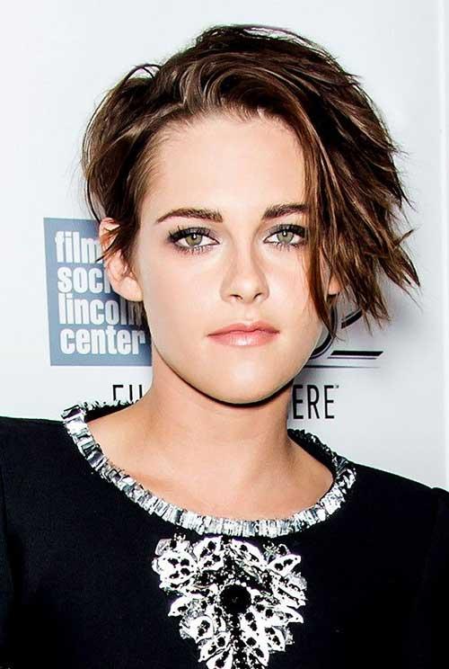 Short Edgy Wavy Haircuts 2014