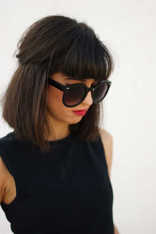 Best Short Hair Bangs Cuts for Women