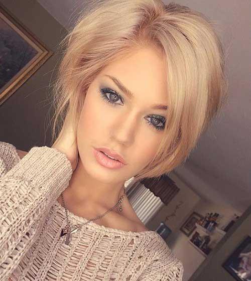 Short Blonde Hair Cuts For Girls