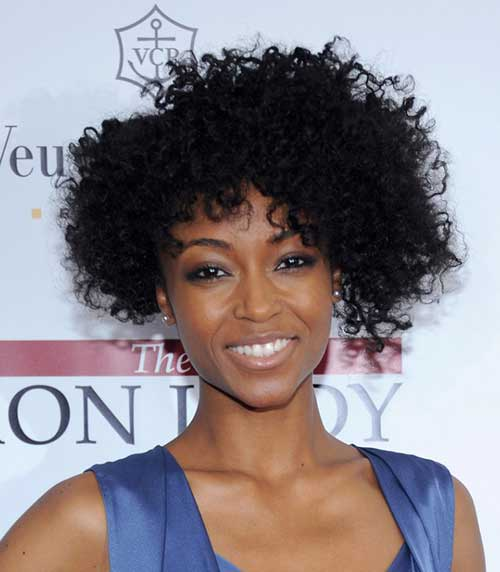 Short Curly Hair Weaves for Black Women