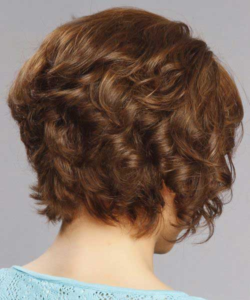 Short Layered Hair for Curly Thick Hair
