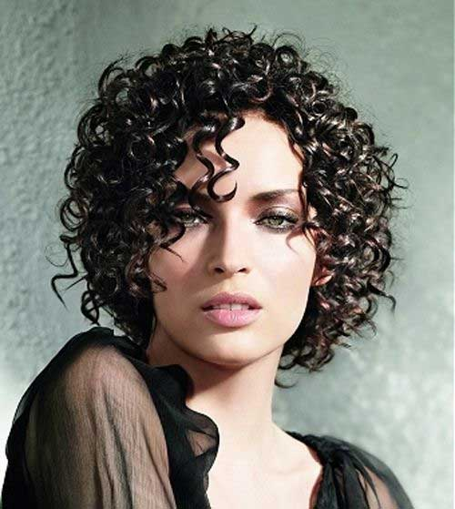 Short Hairstyles For Thick Wavy Hair And Oval Face : Short haircut for curly hair oval face the best
