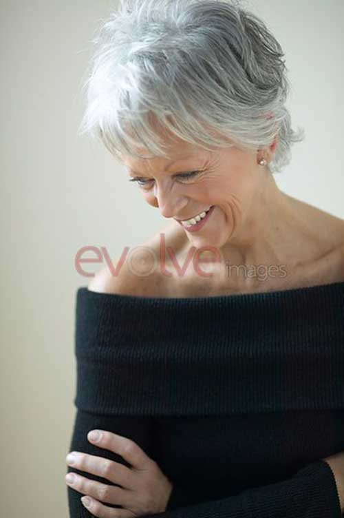 Short Granny Haircuts Over 60