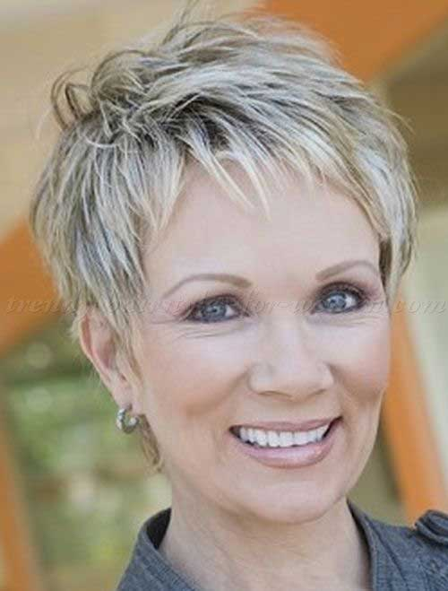 Nice Short Haircuts for Over 60