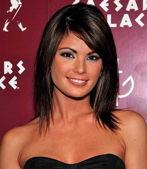 Short to Medium Hairstyles for Straight Fine Hair