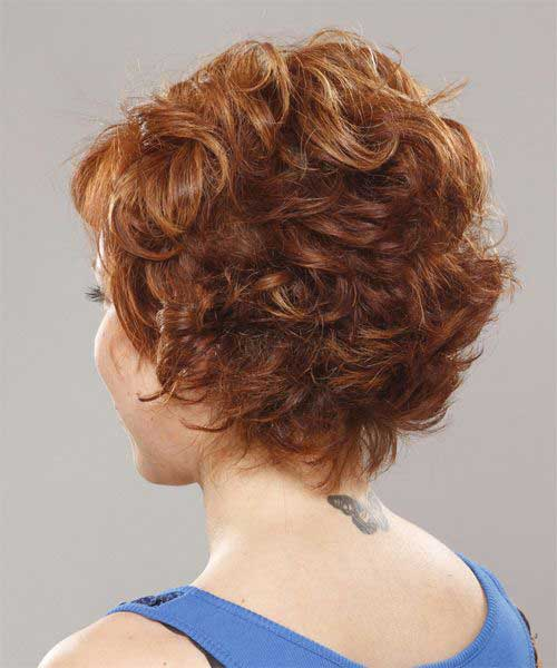 Short Layered Hair Back View For Women Over 40