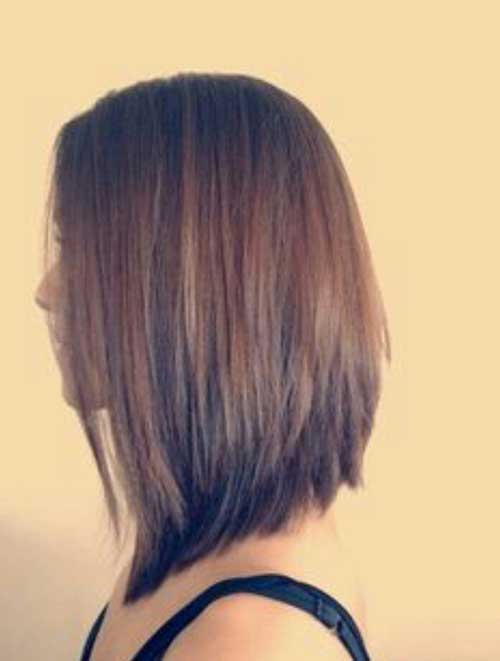 Short Inverted Layered Haircut
