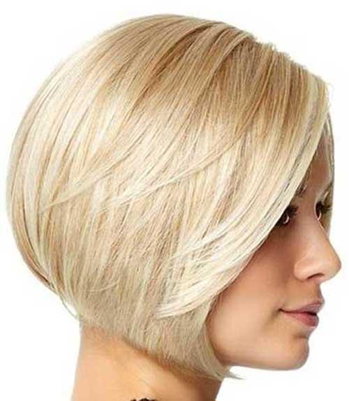 Short Light Blonde Bob Cuts