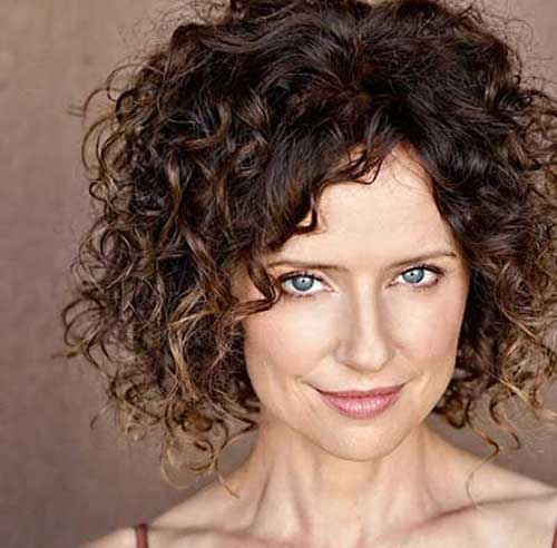 Best Short Natural Curly Brown Hair