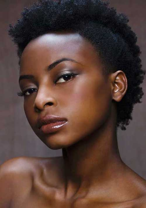 Short Natural Hairstyles for Black Women 2014-2015