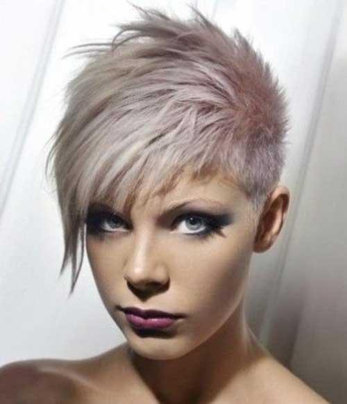 Short Pixie Pastel Hair Cuts