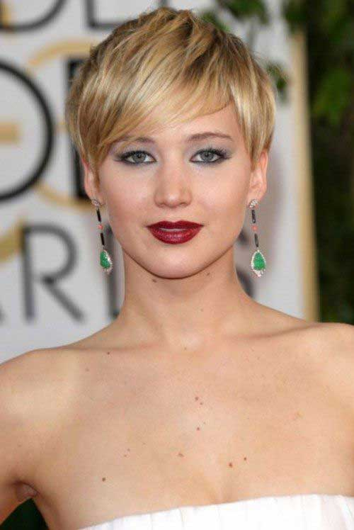 Short Pixie Cuts for Round Face
