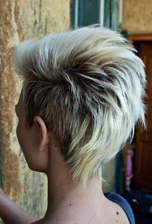 Short Side Hairstyles for Short Blonde Hair