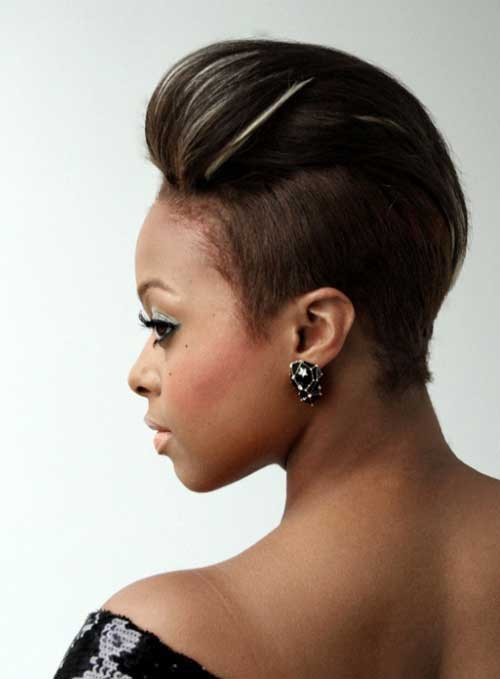 Short Sides Haircuts Ideas for Black Women