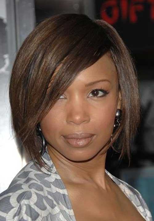 Short Straight Bob Hairstyles Black Women