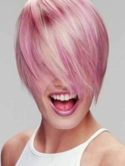 Short Hairstyles Pink Color | The Best Short Hairstyles ...