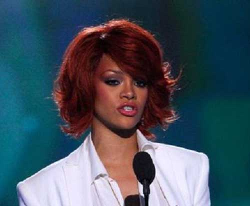 Cool Short Weave Red Hair for Black Women