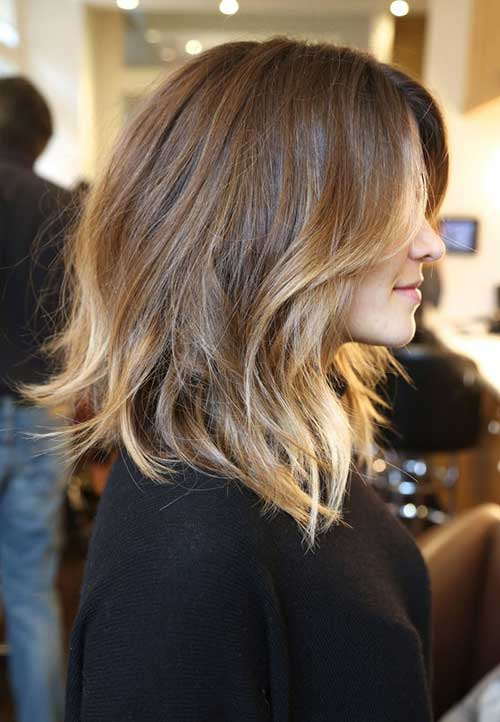 Short to Medium Haircuts Ombre Hair Styles