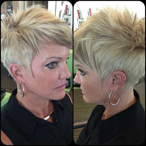 Edgy Pixie Haircut Pictures to pin on Pinterest