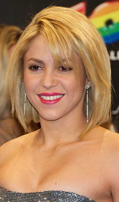 Straight Bob Hairstyles for Older Ladies