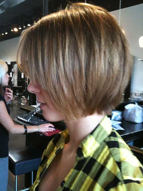 Straight Bob Cuts with Layers
