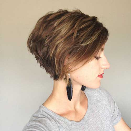 Longer Pixie Styles for Short Hair Women