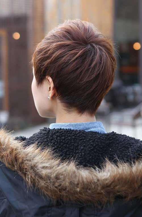 Stylish Pixie Cut Back View Styles