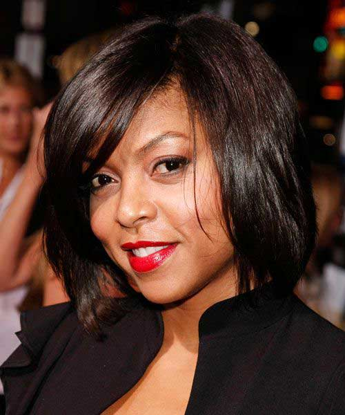 Taraji P. Henson Bob Hairstyles for Black Women