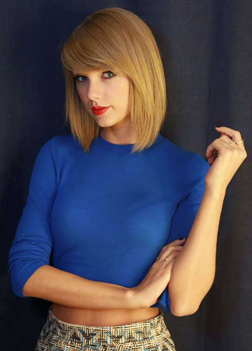 Taylor Swift Haircuts for Women