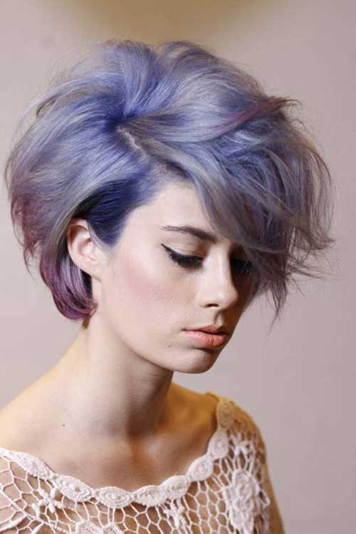 Thick Hairstyles for Short Hair Ideas