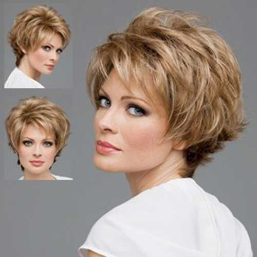 Thick Pixie Haircuts for Older Ladies