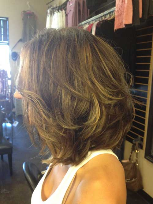 Thick Short Bob Haircut for Women