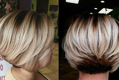Trendy Bob Haircuts with Layers