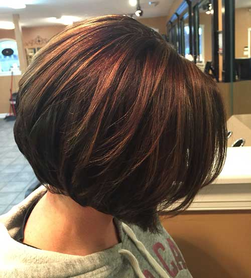 Trendy Brown Bob Hairstyles