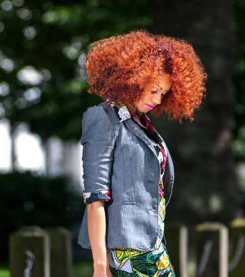 Trendy Short Natural Curly Hair Ideas